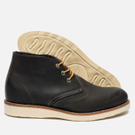 Red Wing Shoes Work Chukka Rough/Tough Leather Men's shoes Charcoal photo- 1