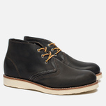Мужские ботинки Red Wing Shoes 3150 Work Chukka Rough/Tough Leather Charcoal фото- 2