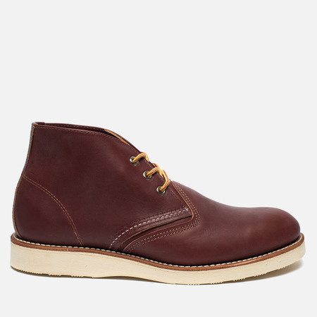 Red Wing Shoes Work Chukka Worksmith Leather Men's shoes Copper