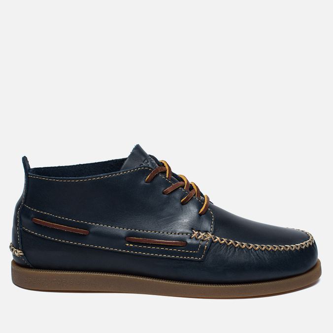 Мужские ботинки Sperry Top-Sider A/O Wedge Chukka Leather Navy