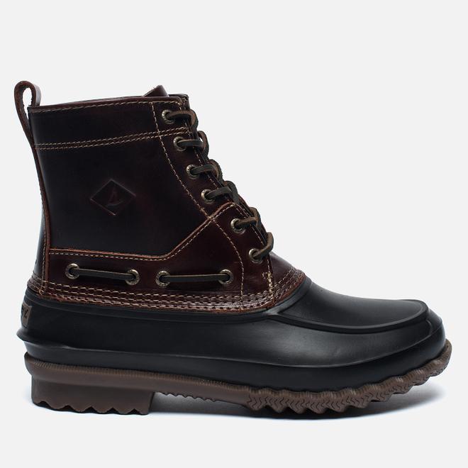 Мужские ботинки Sperry Top-Sider Decoy Leather Amaretto/Black