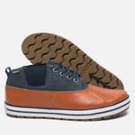 Sperry Top-Sider Fowl Weather Men's Shoes Orange/Navy photo- 2