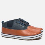Sperry Top-Sider Fowl Weather Men's Shoes Orange/Navy photo- 1