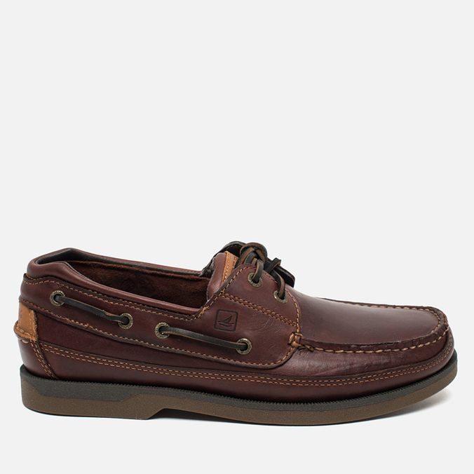 Sperry Top-Sider Mako 2-Eye Canoe Men's Shoes Moc Amaretto