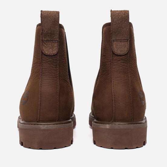 Мужские ботинки Timberland 6-Inch Premium Chelsea Dark Brown
