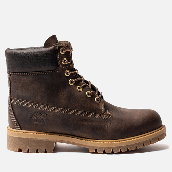 Мужские ботинки Timberland 6 Inch Premium Waterproof Dark Brown