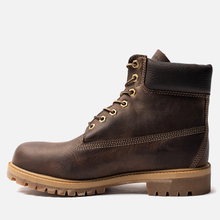 Мужские ботинки Timberland 6 Inch Premium Waterproof Dark Brown фото- 2