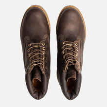 Мужские ботинки Timberland 6 Inch Premium Waterproof Dark Brown фото- 5