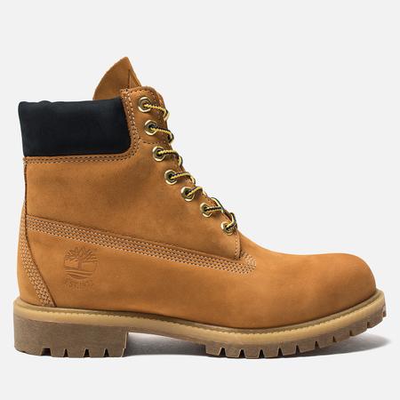 Мужские ботинки Timberland 6 Inch Premium Waterproof Wheat/Dark Sapphire