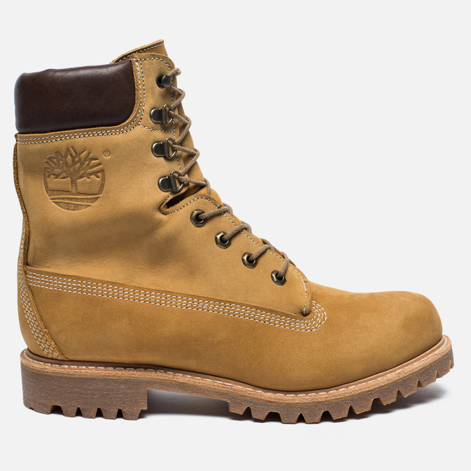 Мужские ботинки Timberland 8-Inch Premium Leather Waterproof Wheat