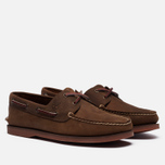Мужские ботинки Timberland Classic 2-Eye Boat Brown фото- 0