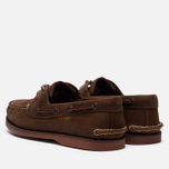 Мужские ботинки Timberland Classic 2-Eye Boat Brown фото- 1
