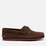 Мужские ботинки Timberland Classic 2-Eye Boat Brown фото- 4