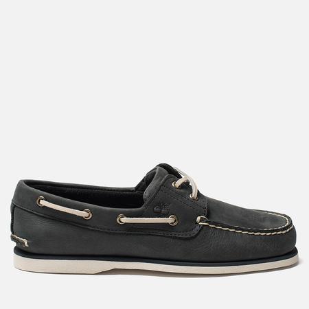Мужские ботинки Timberland Classic 2-Eye Boat Dark Grey Nubuck