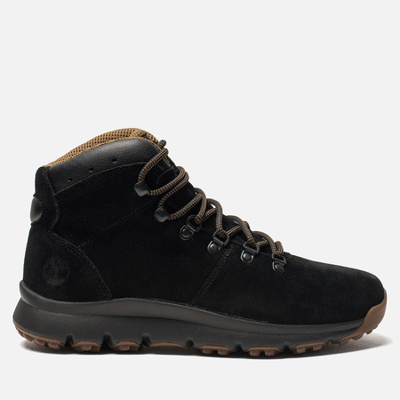 Мужские ботинки Timberland World Hiker Mid Black/Brown