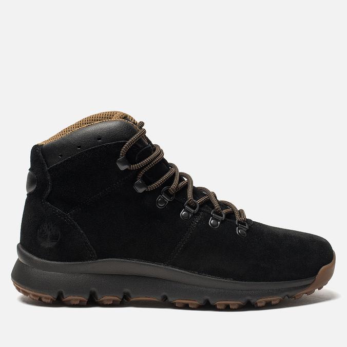 f3e5c750989b Мужские ботинки Timberland World Hiker Mid Black Brown TBLA1QFLM