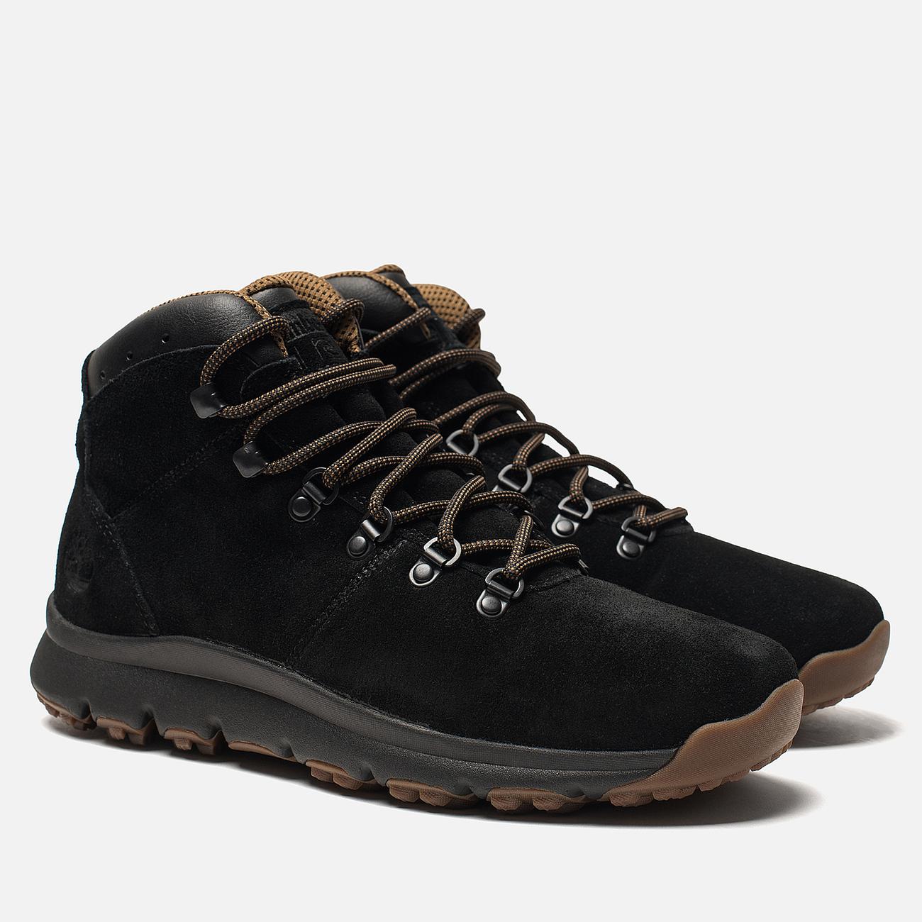 Мужские ботинки Timberland World Hiker Mid Black/Brown