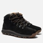 Мужские ботинки Timberland World Hiker Mid Black/Brown фото- 2