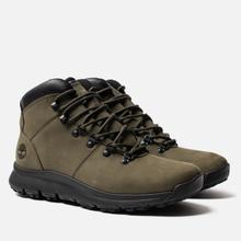 Мужские ботинки Timberland World Hiker Mid Dark Green фото- 0