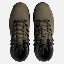 Мужские ботинки Timberland World Hiker Mid Dark Green фото- 1