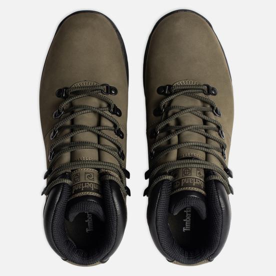 Мужские ботинки Timberland World Hiker Mid Dark Green