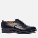 Мужские ботинки Tricker's Henley Sole Leather Black фото- 0