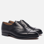 Мужские ботинки Tricker's Henley Sole Leather Black фото- 1