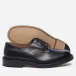 Мужские ботинки Tricker's Woodstock Plain Derby Sole Leather Black фото- 2