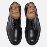Мужские ботинки Tricker's Woodstock Plain Derby Sole Leather Black фото- 4