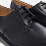 Мужские ботинки Tricker's Woodstock Plain Derby Sole Leather Black фото- 5
