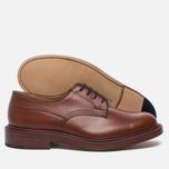 Мужские ботинки Tricker's Woodstock Plain Derby Sole Leather Marron Antique фото- 2