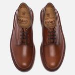Мужские ботинки Tricker's Woodstock Plain Derby Sole Leather Marron Antique фото- 4
