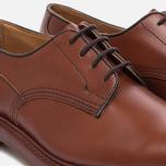 Мужские ботинки Tricker's Woodstock Plain Derby Sole Leather Marron Antique фото- 5
