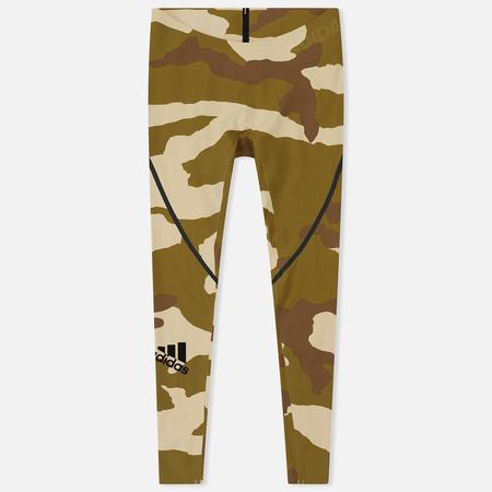 6f240fa6a433 Мужские брюки adidas Originals x Undefeated Alphaskin 360 TIG 1 1  Dune Tactile Khaki