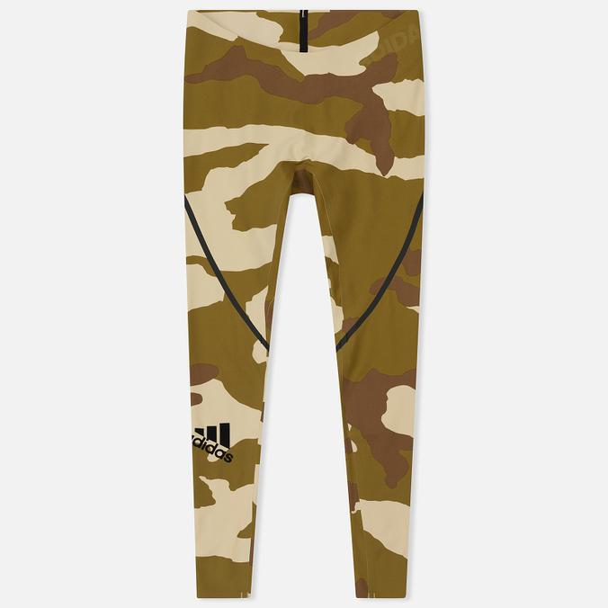 Мужские брюки adidas Originals x Undefeated Alphaskin 360 TIG 1/1 Dune/Tactile Khaki/Base Khaki