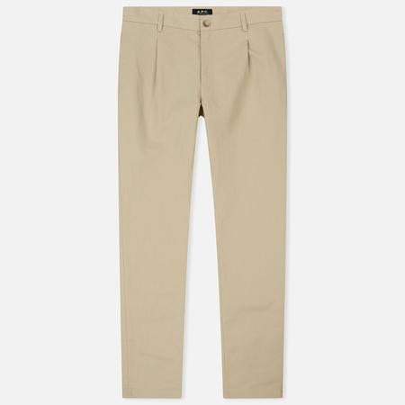 Мужские брюки A.P.C. Florian Beige