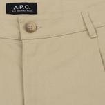 Мужские брюки A.P.C. Florian Beige фото- 2