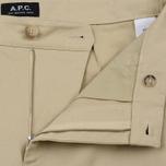 Мужские брюки A.P.C. Florian Beige фото- 1