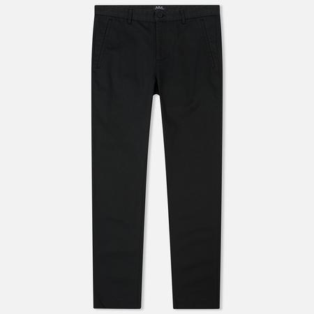 Мужские брюки A.P.C. Terry Black