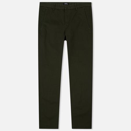 Мужские брюки A.P.C. Terry Khaki Military