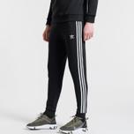 Мужские брюки adidas Originals 3-Stripes Fleece Black фото- 2