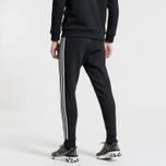 Мужские брюки adidas Originals 3-Stripes Fleece Black фото- 3