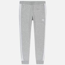 Мужские брюки adidas Originals 3-Stripes Fleece Medium Grey Heather фото- 0