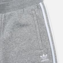 Мужские брюки adidas Originals 3-Stripes Fleece Medium Grey Heather фото- 1
