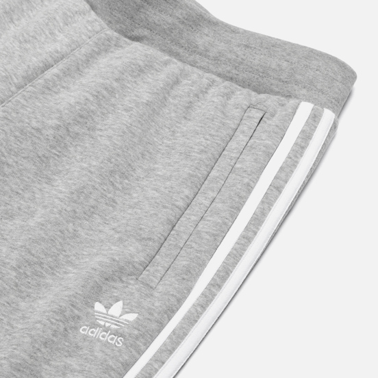 Мужские брюки adidas Originals 3-Stripes Fleece Medium Grey Heather