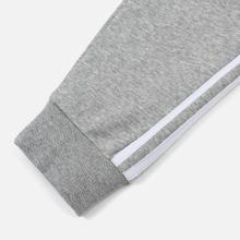 Мужские брюки adidas Originals 3-Stripes Fleece Medium Grey Heather фото- 2
