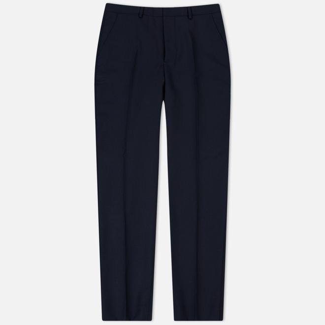 Мужские брюки AMI Carrot Fit Wool Navy