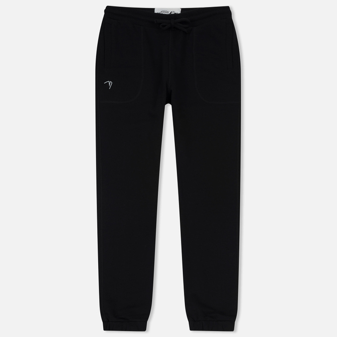 Мужские брюки Arctic Explorer Logo Print Black