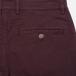 Мужские брюки Armor-Lux Heritage Chino Men's Trousers Penombre Red photo- 3