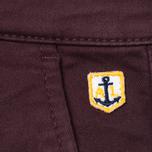 Мужские брюки Armor-Lux Heritage Chino Men's Trousers Penombre Red photo- 4